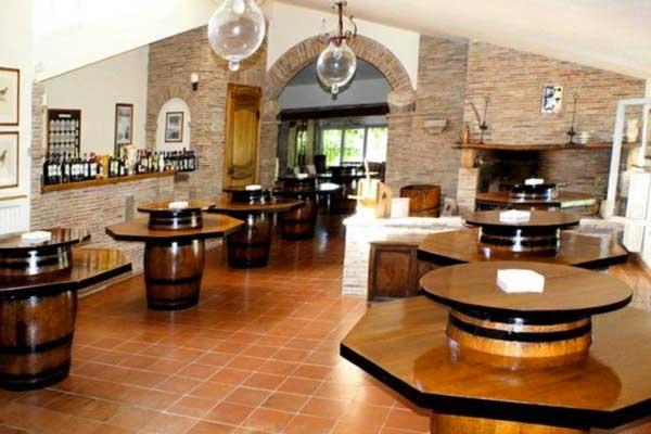 degustazione vini alla fattoria Uccelliera